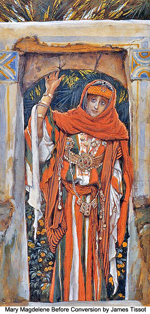 Mary Magdalene Before Conversion by James Tissot
