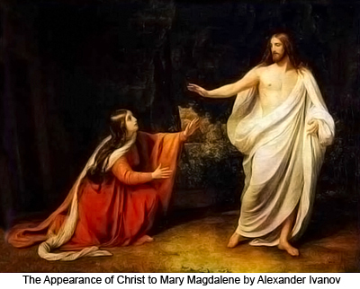 The Appearance of Christ to Mary Magdalene by Alexander Ivanov