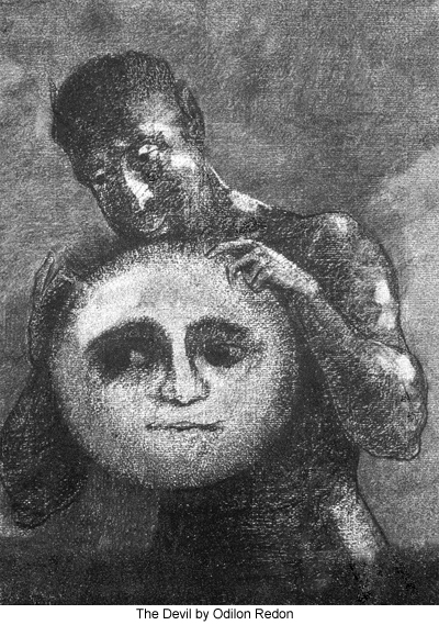 Odilon Redon The Devil