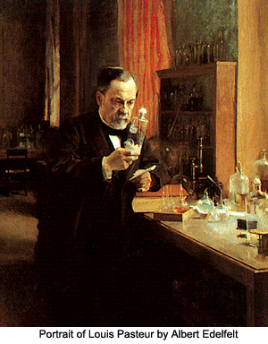 Albert Edelfelt Portrait of Louis Pasteur