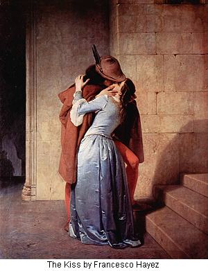 The Kiss by Francesco Hayez