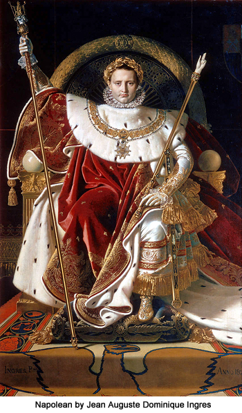 Napolean by Jean Auguste Dominique Ingres